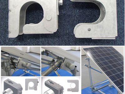 太陽電池モジュール固定金具 カンロク